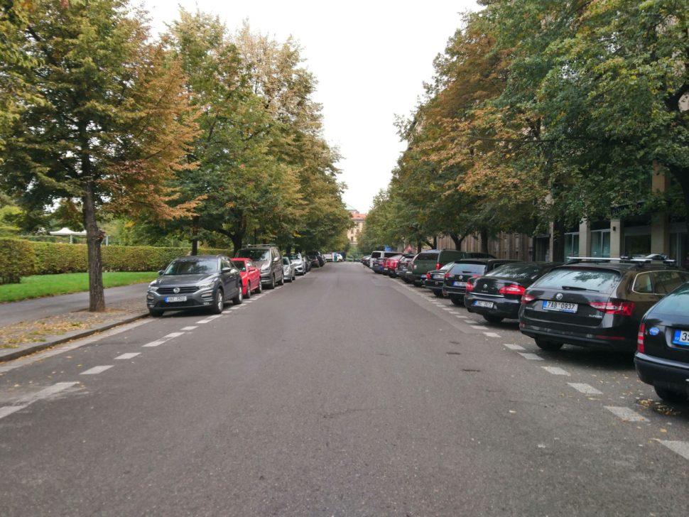 Parkování Lannova ulice