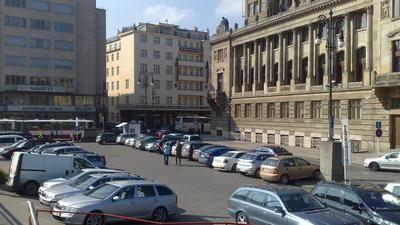Parkování Hradební ulice